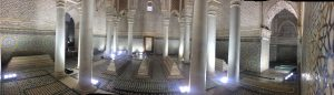 Saadian Tombs in Marrakesh (Marrakech)