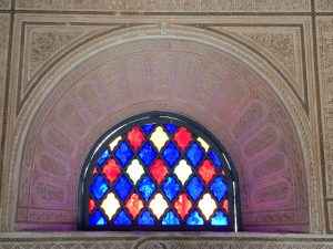 Stained Glass Window  at Bahia Palace, Marrakesh (Marrakech)