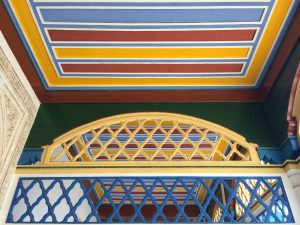 Colourful Ceiling at Bahia Palace, Marrakesh (Marrakech)