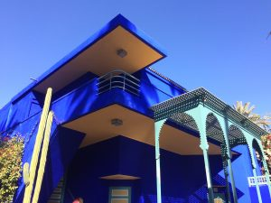 Jardin Majorelle - Yves Saint Laurent's place in Marrakesh (Marrakech)