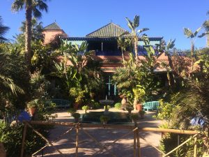 Villa at Jardin Majorelle - Yves Saint Laurent's place in Marrakesh (Marrakech)