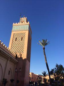 Marrakesh outside the Medina
